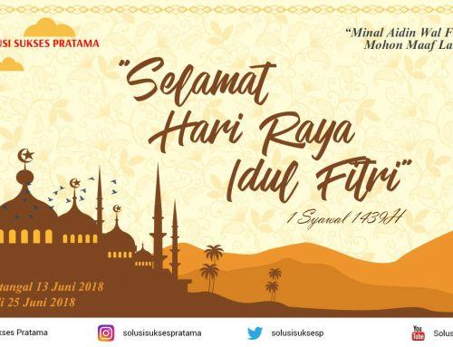 Selamat Hari Raya Idul Fitri 1439H