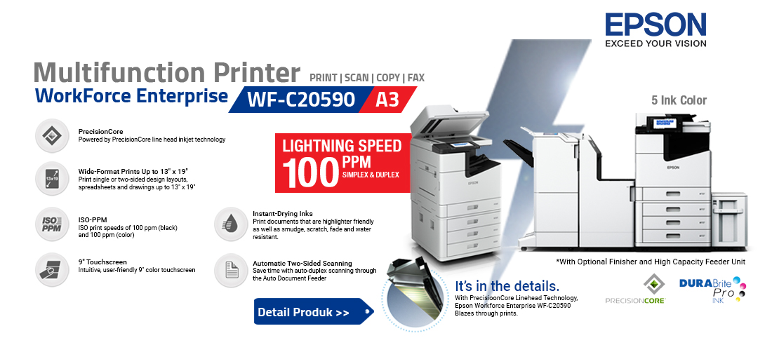 epson inkjet printer workforce wf-c20590