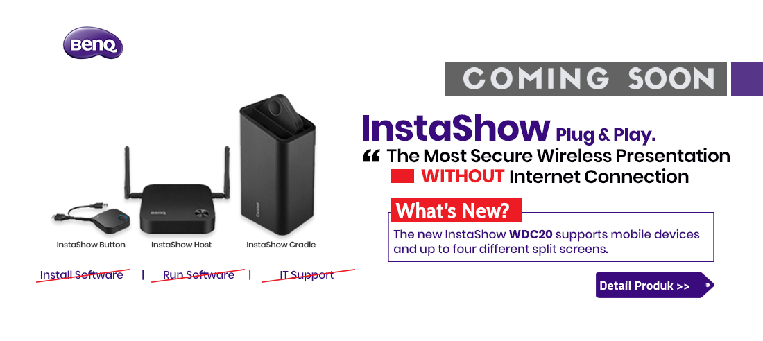 benq instashow wdc20 wireless presentation 1