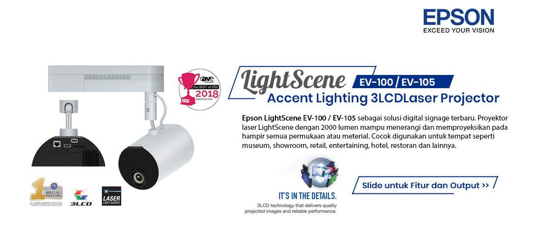 epson ev100 - ev105 lightscene laser projector 1