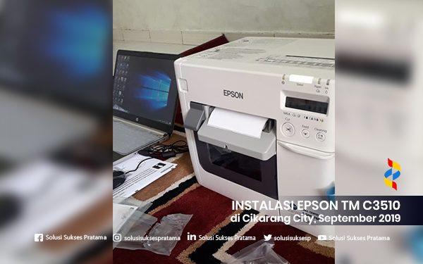 instalasi epson tm c3510cikarang city 2019 2 portofolio