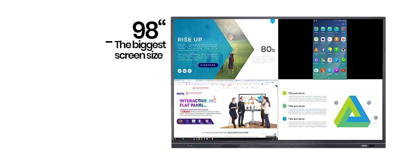 jual ascreen 98w11k-u interactive display