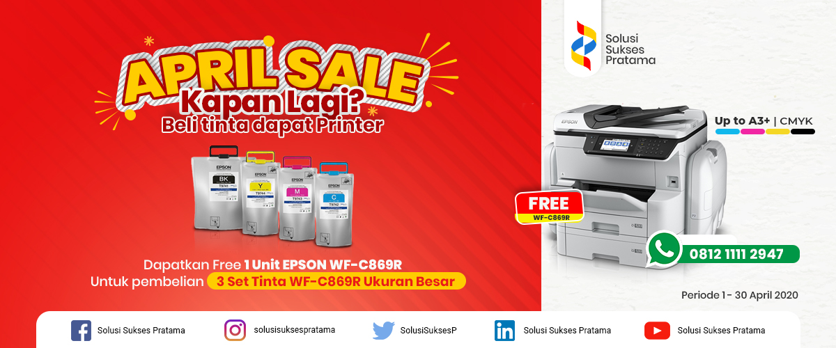 beli tinta dapat printer epson workforce pro wf-c869r