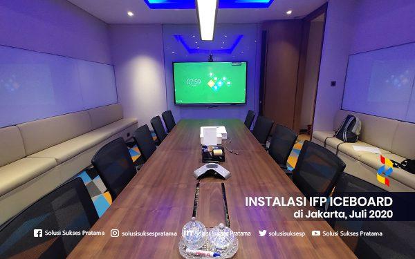 instalasi interactive flat panel iceboard jakarta 2020 2 portofolio