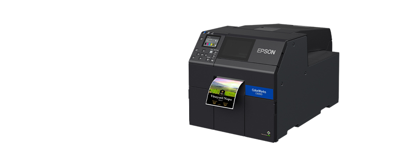 jual epson colorworks cw-c6050a label printer