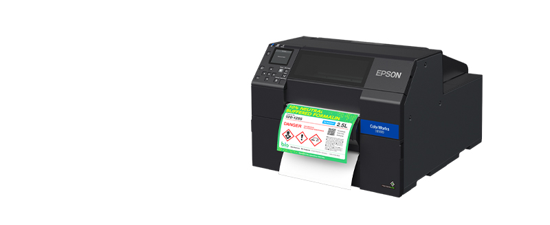 jual epson colorworks cw-c6550p label printer