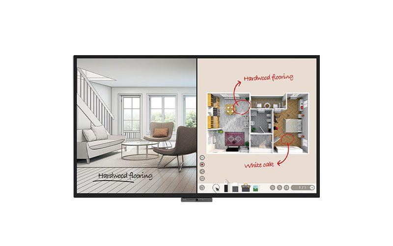 BenQ DuoBoard CP8601K Interactive Flat Panel