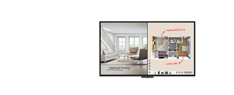 jual benq duoboard cp8601k interactive flat panel