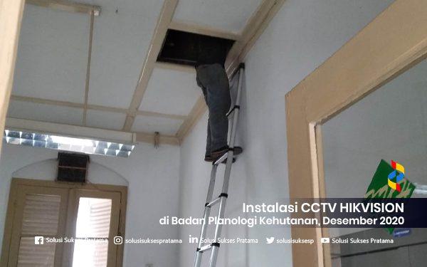 instalasi cctv hikvision di badan planologi kehutanan bogor 2020 4 portofolio