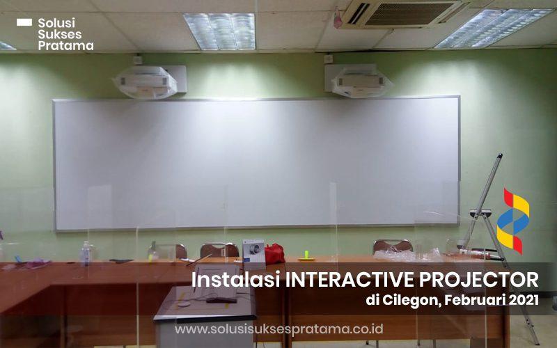 instalasi epson interactive projector eb 1485fi di cilegon 2021 1 portofolio