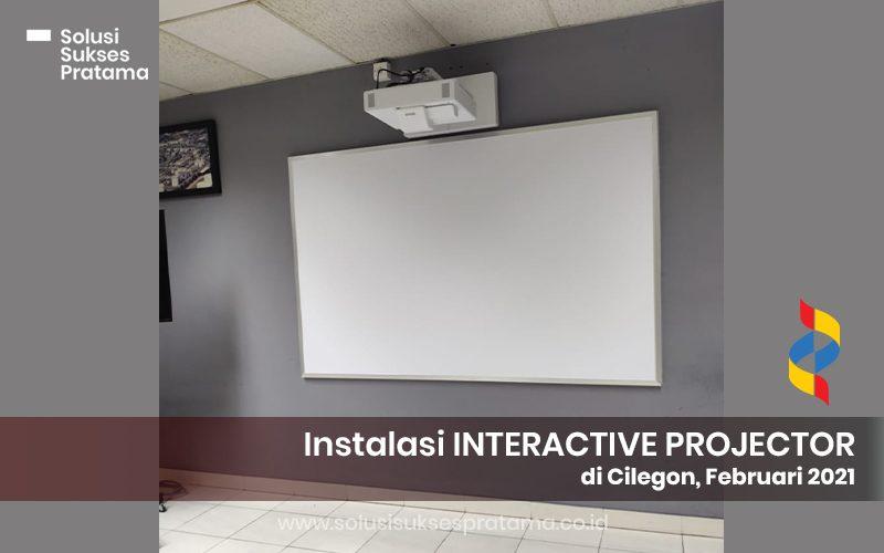 instalasi epson interactive projector eb 1485fi di cilegon 2021 4 portofolio
