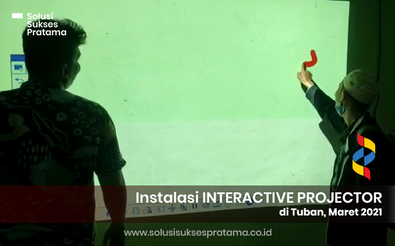 instalasi epson interactive projector di tuban jawa timur 2021 4 portofolio