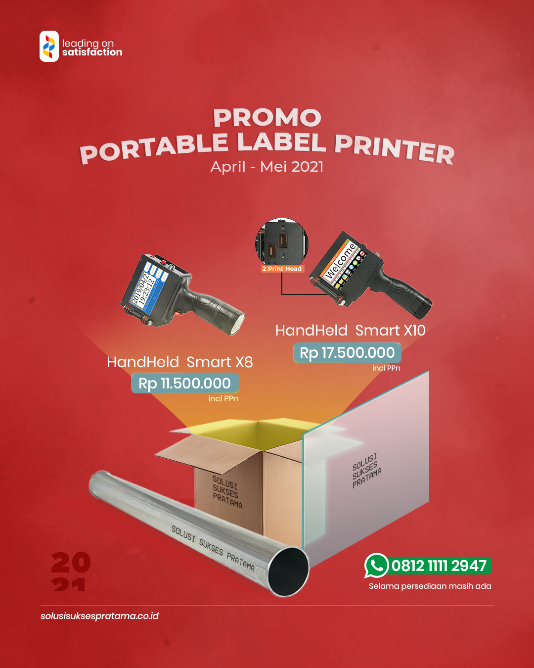 Promo Portable Label Printer